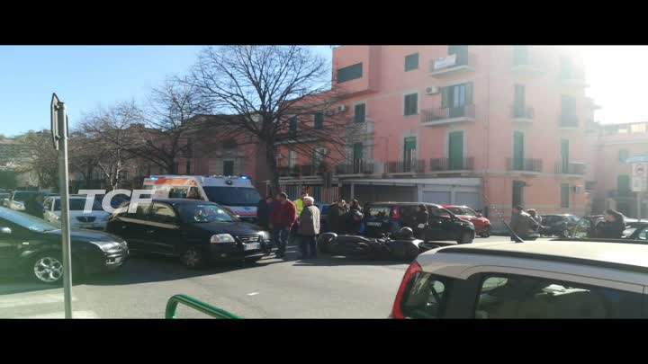 INCIDENTE VIA MANZONI